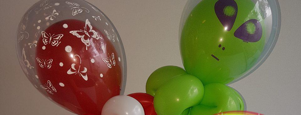 Ballonvouwen bij Schminkkoppies.