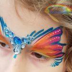 Kinderschminken Schmink Amsterdam Vlinder